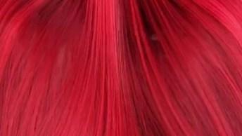 Cabelo Vermelho Maravilhoso, Olha Só O Brilho Deste Cabelo!