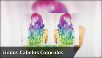 Cabelos Coloridos - Lindas Imagens Para Escolher Qual Cor Usar!