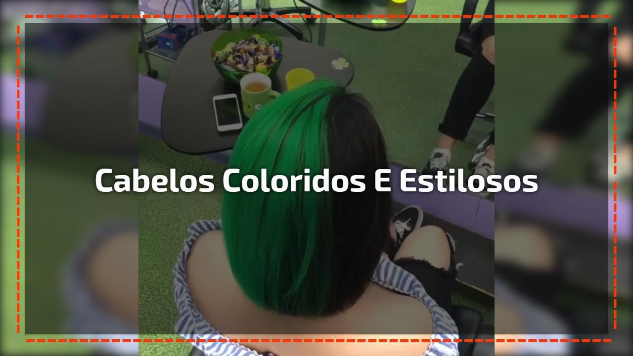 Cabelos coloridos mais surpreendentes que verá hoje, confira!