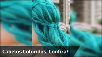Cabelos Coloridos Simplesmente Maravilhosos, Olha Só Este Vídeo!