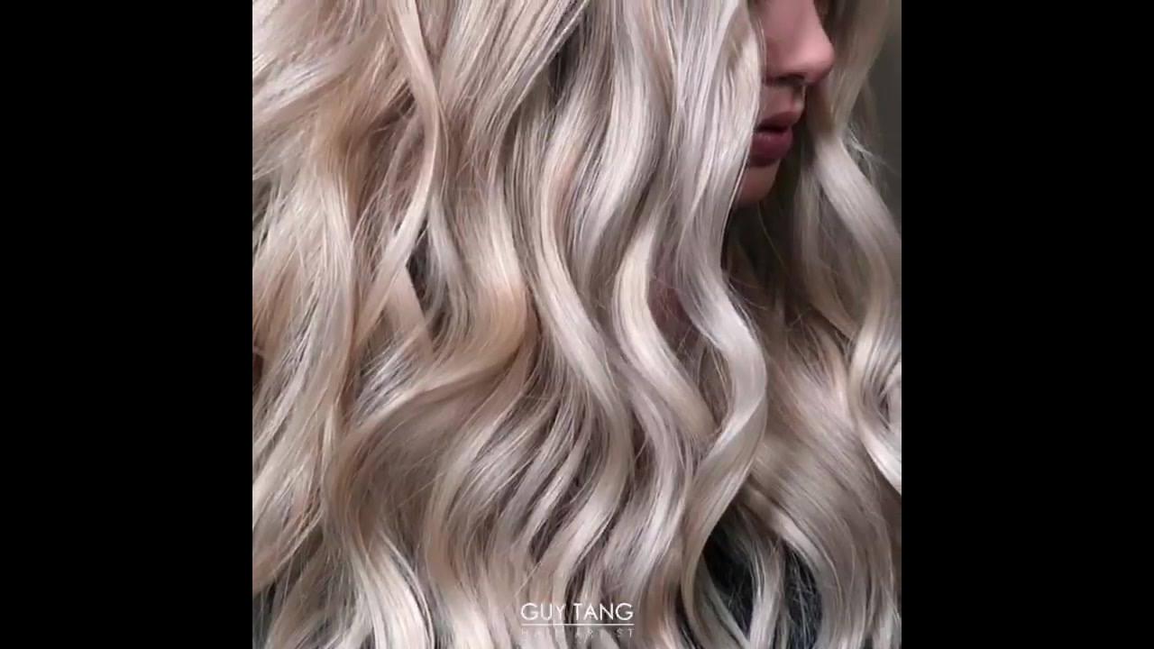 Clareando mais os cabelos loiros, o resultado ficou incrível!