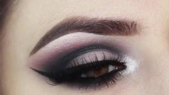 Como Fazer Um Olhar Marcante, Com Esfumaçado Preto, Confira!