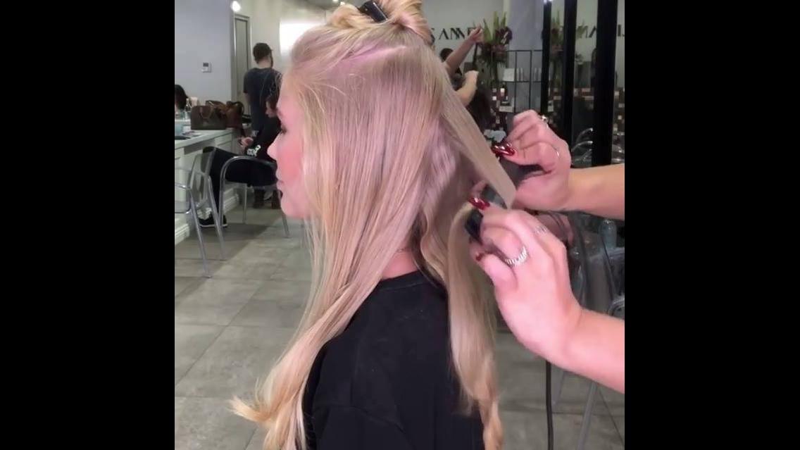 Como ondular os cabelos de forma perfeita usando chapinha, olha só que legal!!!