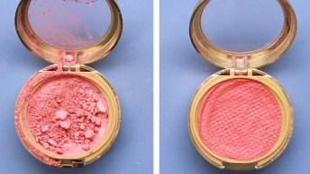 Como Recuperar Maquiagem Quebrada, Uma Dica Muito Útil Para As Mulheres!