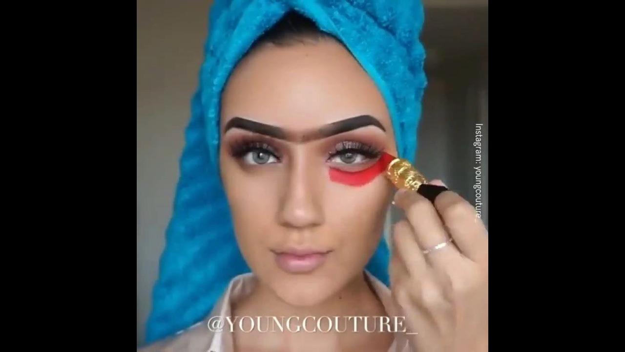 Compilação de maquiagens com contornos maravilhosos