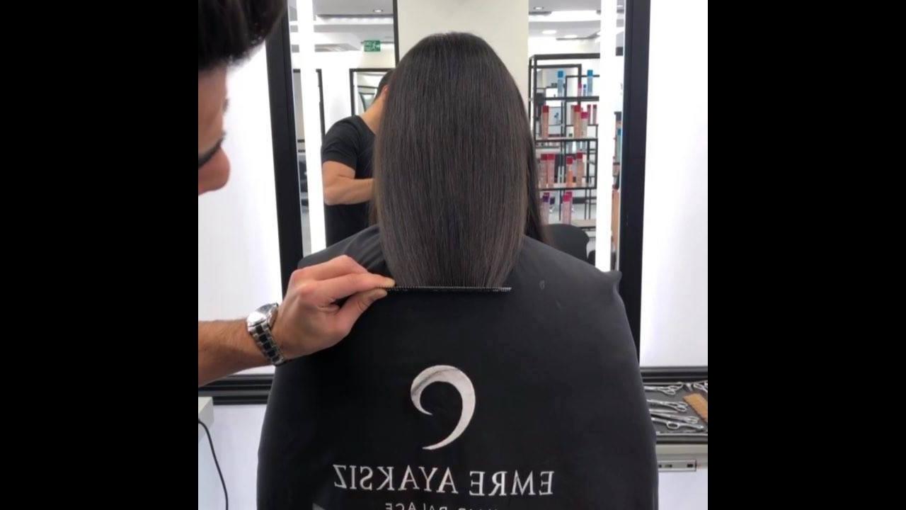 Corte de cabelo com ombre hair bem natural