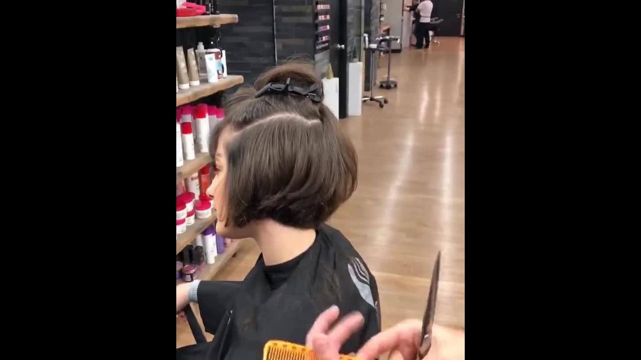 Corte de cabelo curto charmoso lindo, vale a pena conferir!!!