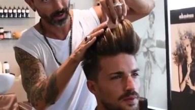 Corte De Cabelo Masculino Com Penteado Super Moderno, Confira!