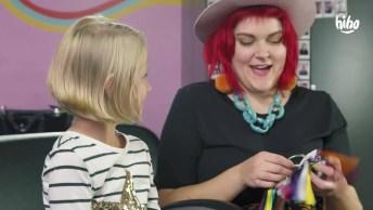 Crianças Colorindo Os Cabelos, Ficaram Lindos Os Resultados, Confira!