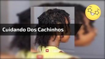 Cuidando Dos Cabelos Crespos De Crianças, O Resultado É Lindo!