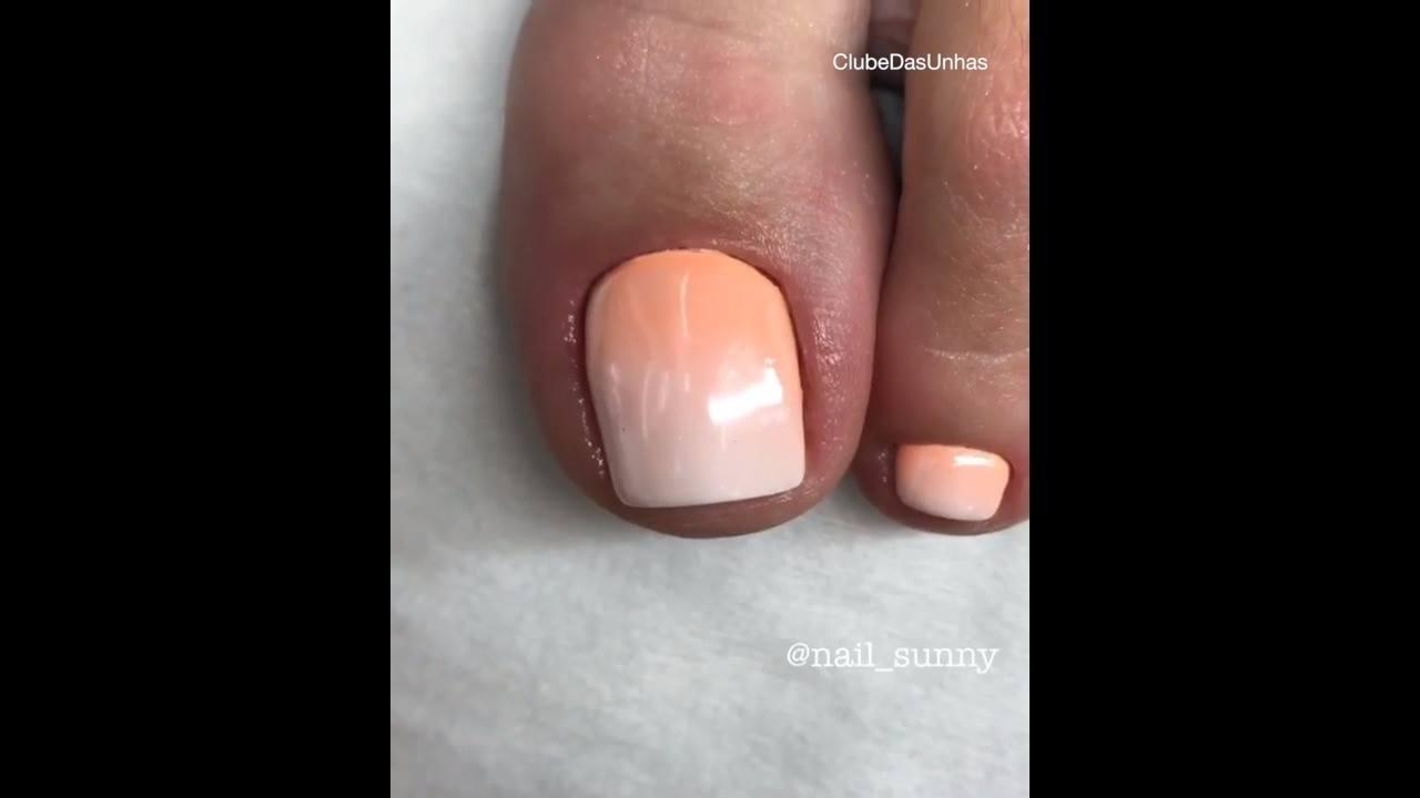 Cutículas das unhas dos pés, será que dá para tirar