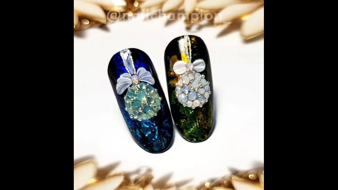 Decoração super luxo para unhas
