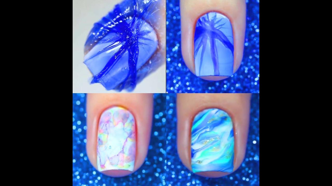 Decorações de unhas feitas na água, todas são sensacionais!