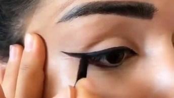 Delineado Perfeito, Olha Só Que Lindo Que Ficou Este Olho!