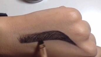 Desenho De Olho Maquiado Na Mão, Uma Verdadeira Obra De Arte!