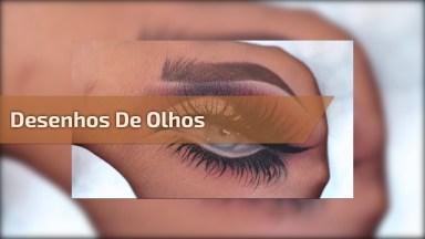 Desenhos De Olhos Maquiados, Os Resultados São Surpreendentes!