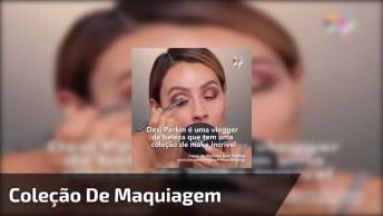 Desi Perkin, Vlogger De Beleza E Sua Coleção Incrível De Maquiagem!