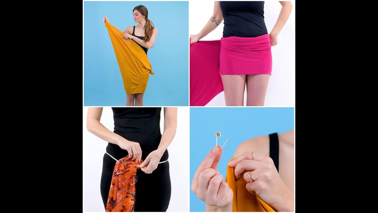 Dicas de como usar suas roupas de maneiras que você nunca imaginou