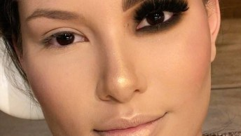Diferença Entre Um Olho Maquiado E O Outro Sem Maquiagem, Confira!