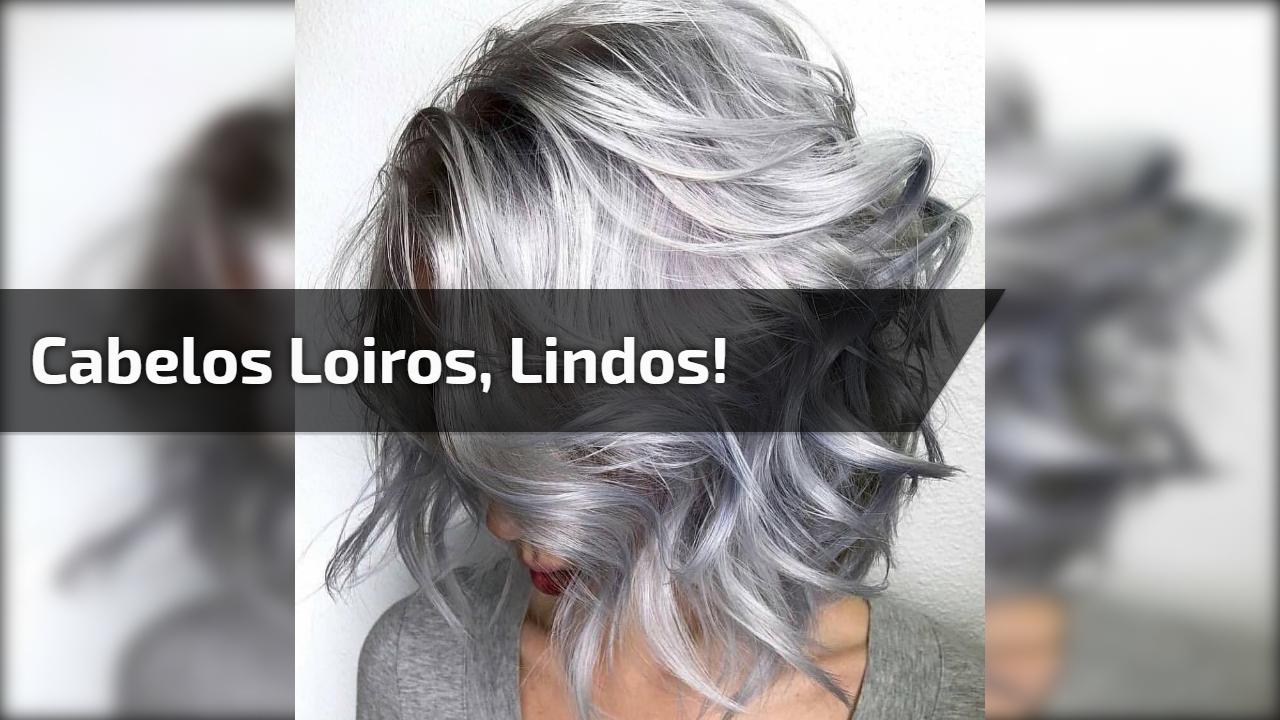 Dois resultados de cabelos loiros que irão te deixar encantada!