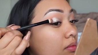 Esse Tutorial De Maquiagem É Lindíssimo! Veja Só Como É Fácil De Fazer!