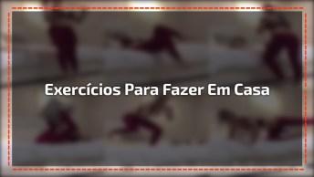 Exercícios Para Você Fazer Na Sua Cama, Seja Fitness Sem Sair Do Seu Quarto!