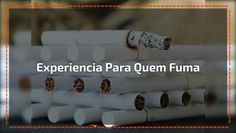 Experiência Para Pessoas Que Fumam, Assustador, Confira!
