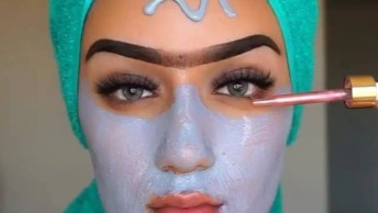 Fazendo Maquiagem E Cuidando Da Pele, Mais Um Vídeo Incrível Para Conferir!