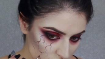 Halloween Esta Chegando, Já Escolheu A Sua Make? Ideia No Vídeo!