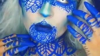 Halloween Esta Chegando, Veja Que Lindas Inspirações De Maquiagem!