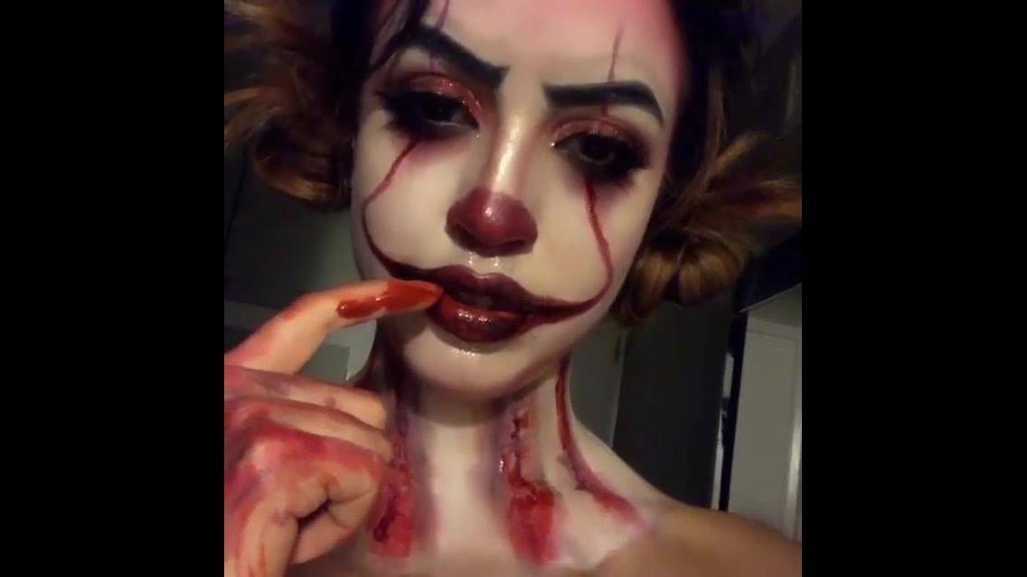 Ideia de maquiagem de terror, para sair na festa de Halloween, confira!