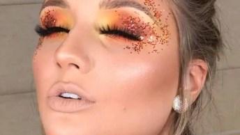 Ideia De Maquiagem Para Curtir O Carnaval Com Muito Brilho!