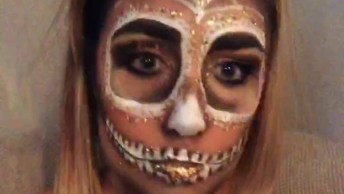 Ideia De Maquiagem Para Halloween, Mais Uma Que Vai Te Inspirar!