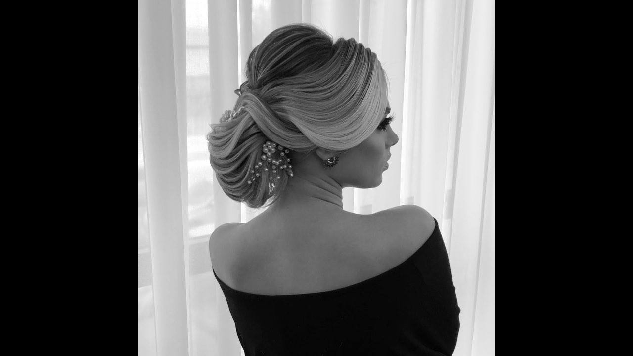 Ideia de penteado preso para noiva