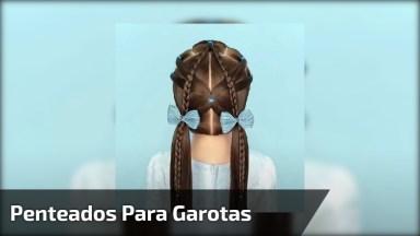Ideias De Penteados Para Garotas, Mais Ideias Incríveis Para Você!