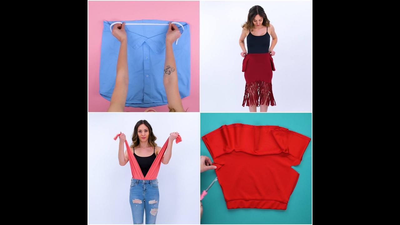 Ideias para transformar roupas em outras, que incrível, confira!