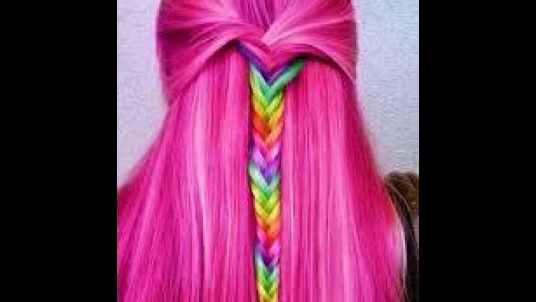 Imagens de cabelos coloridos, um mais lindo que o outro, confira e compartilhe!