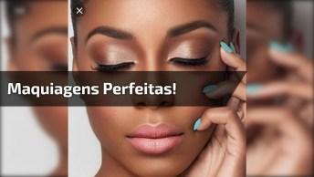 Imagens De Mulheres Maquiadas Para Dar Inspiração E Fazer A Sua Make Favorita!