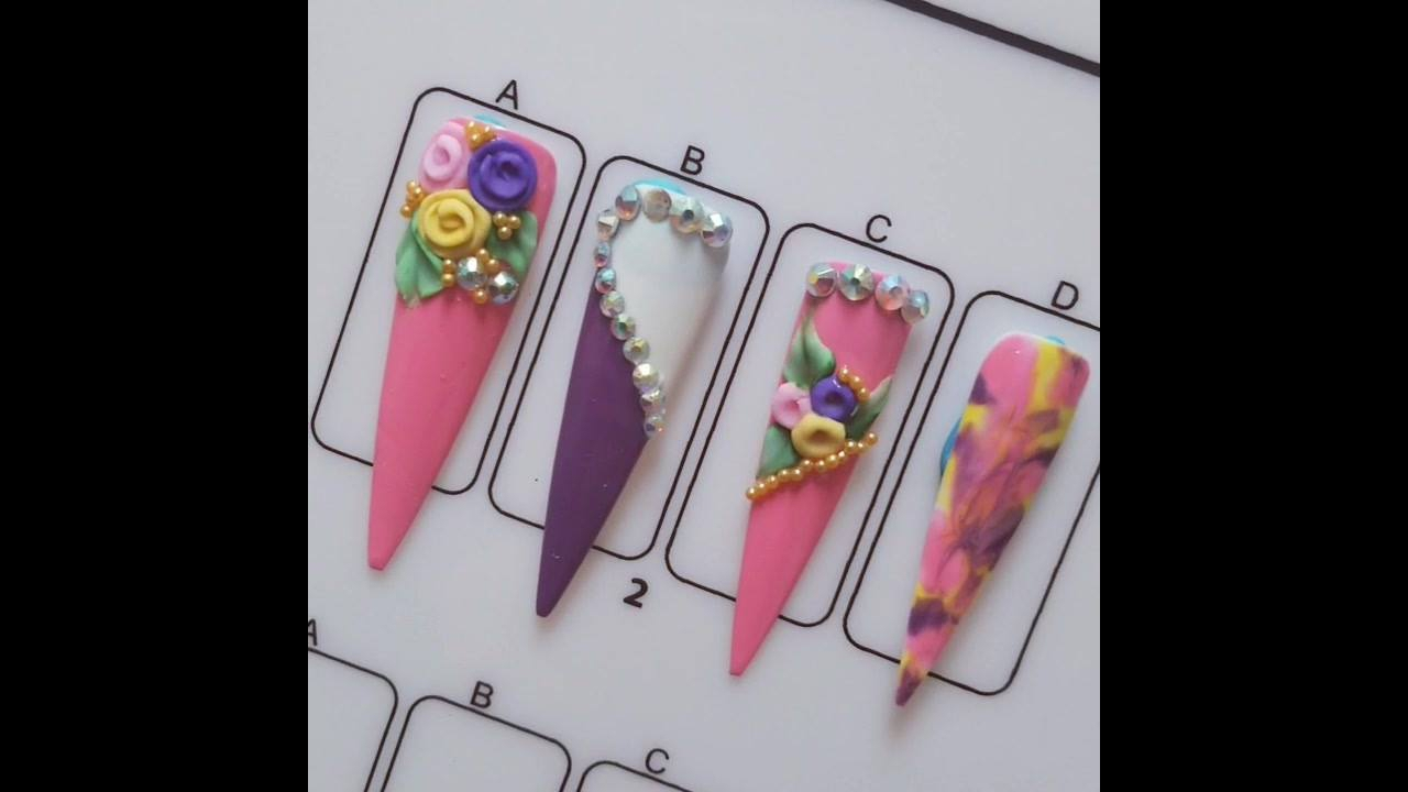 Inspiração de decoração para unhas