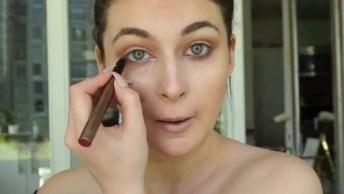 Inspiração De Make Em Vídeo Curtinho, Olha Só Que Linda Maquiagem!