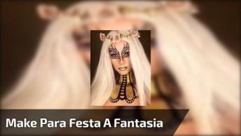 Inspiração De Make Para Festa A Fantasia, Olha Só Que Desenho Incrível!