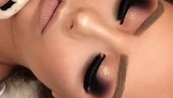 Inspiração De Make Para Formanda, Olha Só Este Esfumado Preto Maravilhoso!