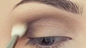 Inspiração De Maquiagem Azul Metálica Para Os Olhos, Simplesmente Perfeita!