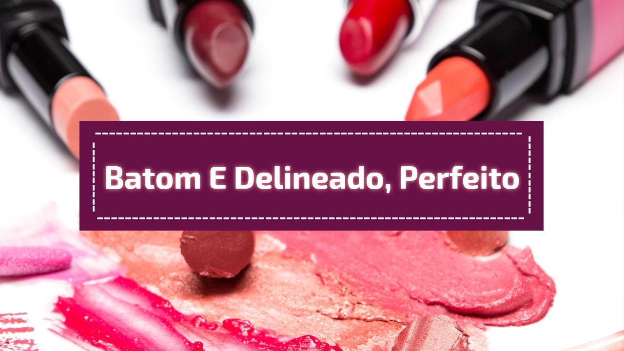 Inspiração de maquiagem com batom vermelho e delineado maravilhoso!!!