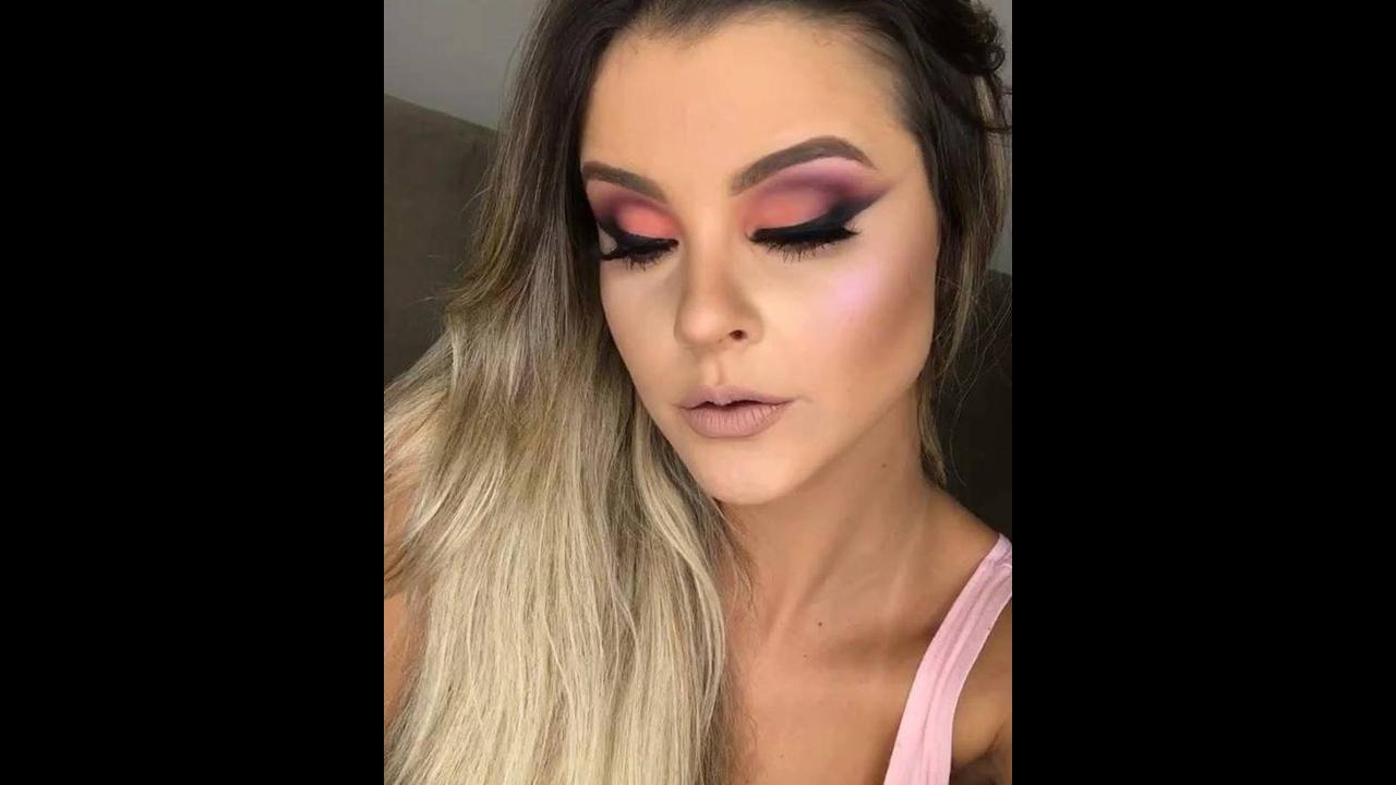Inspiração de maquiagem com cor maravilhosa de sombra