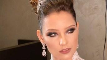 Inspiração De Maquiagem E Penteados Para Noivas Que São Verdadeiras Rainhas!