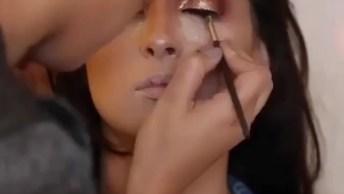 Inspiração De Maquiagem Glamourosa Para Eventos Especiais!