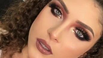 Inspiração De Maquiagem Glamourosa Para Formandas, Olha Só Que Sombra!