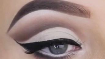 Inspiração De Maquiagem Linda Nos Olhos, Esta Técnica É Tendencia!