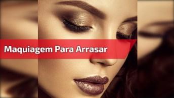 Inspiração De Maquiagem Linda Para Arrasar No Fim De Semana!
